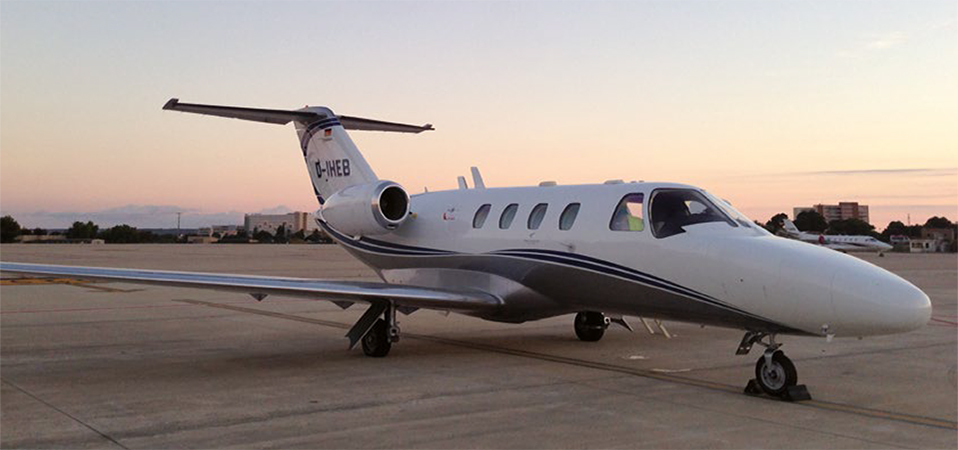 D-IHEB Cessna Citation Jet CJ1